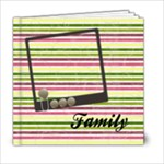 FAMILY BOOK  6x6 - 6x6 Photo Book (20 pages)