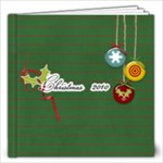 12x12 Christmas Cheers- template - 12x12 Photo Book (20 pages)
