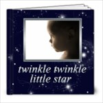 Twinkle Twinkle Little Star 8 x 8 Bragbook - 8x8 Photo Book (20 pages)