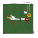 6x6 Christmas Cheers- template - 6x6 Photo Book (20 pages)