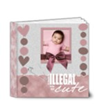 My baby girl 4x4 DELUXE - 4x4 Deluxe Photo Book (20 pages)