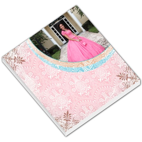 Pink Small Memo Pad By Ivelyn   Small Memo Pads   Ycbasxtjaplv   Www Artscow Com