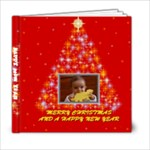 Merry Christmas Book 6x6 20 pages - 6x6 Photo Book (20 pages)