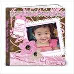 Yza 1st bday - 6x6 Photo Book (20 pages)
