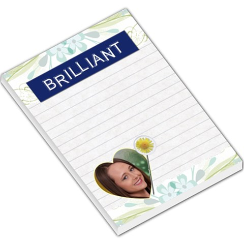Brilliant Large Memo Pad By Lil    Large Memo Pads   Elat25vmmv8f   Www Artscow Com