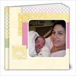 Baby Girl book - 8x8 Photo Book (20 pages)