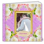 I do - 8x8 photo book violet - 8x8 Deluxe Photo Book (20 pages)