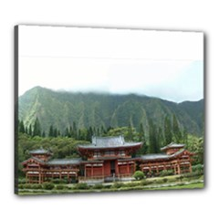 24x20 Pagoda Stretched Canvas - Canvas 24  x 20  (Stretched)