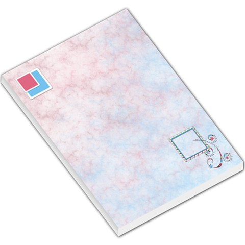 Bloop Bleep Memo Pad 1 By Lisa Minor   Large Memo Pads   K5ycqcouw7fk   Www Artscow Com