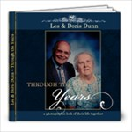 Les & Doris Dunn - 8x8 Photo Book (20 pages)