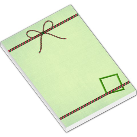 Merry And Bright Memo Pad 1 By Lisa Minor   Large Memo Pads   Phanqc5pynyt   Www Artscow Com