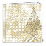 8x8 xmas swirls album - 8x8 Photo Book (20 pages)