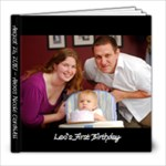 8x8 Lexi s First Birthday - 8x8 Photo Book (20 pages)