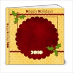 Christmas Jingle 6x6 Photo Book - 6x6 Photo Book (20 pages)