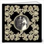 Liquid Gold Wedding Album 12 x 12 20 page  - 12x12 Photo Book (20 pages)