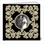 Liquid Gold Wedding Album 8 x 8 20 page  - 8x8 Photo Book (20 pages)