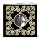 Liquid Gold Wedding Album 6 x 6 20 page  - 6x6 Photo Book (20 pages)