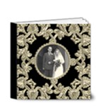 Liquid Gold Wedding Album 4 x 4 20 page  - 4x4 Deluxe Photo Book (20 pages)