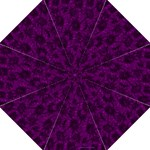 Grape Floral Blanket by Celeste Sheffey - Folding Umbrella