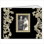 Liquid Gold wedding brag book  new 7 x 5 - 7x5 Photo Book (20 pages)
