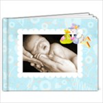 Babylove newborn baby boy bragbook new 7 x 5 - 7x5 Photo Book (20 pages)