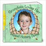 Grandma s Loves Her Sweet Honey Bees 8x8 - 8x8 Photo Book (20 pages)
