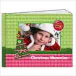 9x7 Hugs & Kissmas/Christmas Album - 9x7 Photo Book (20 pages)