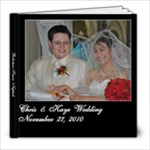 robertson wed - 8x8 Photo Book (20 pages)