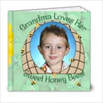 Grandma s Loves Her Sweet Honey Bees 6x6 - 6x6 Photo Book (20 pages)
