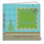 Happy New Year & Christmas book - 8x8 - 8x8 Photo Book (20 pages)