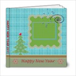 Happy New Year & Christmas book - 6x6 - 6x6 Photo Book (20 pages)