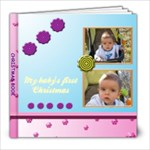 My baby s first Christmas 8x8 book - 8x8 Photo Book (20 pages)