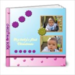 My baby s first Christmas 6x6 book - 6x6 Photo Book (20 pages)
