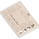 Tyger Tyger 2011 Calendar  large memo pad - Large Memo Pads