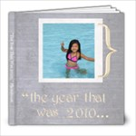 The Whole Year 8x8 Photobook - 8x8 Photo Book (30 pages)