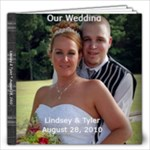 lindsey wedding - 12x12 Photo Book (40 pages)