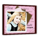 precious girl canvas - Canvas 24  x 20  (Stretched)