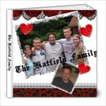 The Hatfields - 8x8 Photo Book (20 pages)
