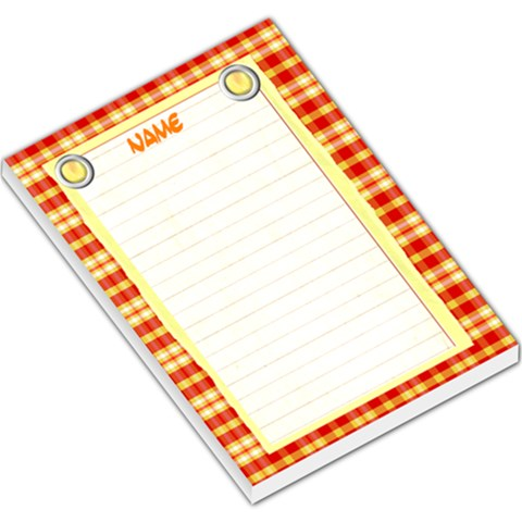 Lemonade Notepad By Danielle Christiansen   Large Memo Pads   9fowov9p91yd   Www Artscow Com