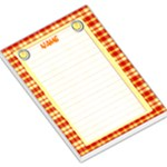lemonade notepad - Large Memo Pads