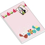 cute easter notepad - Large Memo Pads