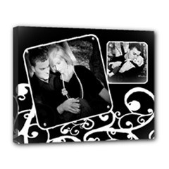 classic black & white - Canvas 14  x 11  (Stretched)