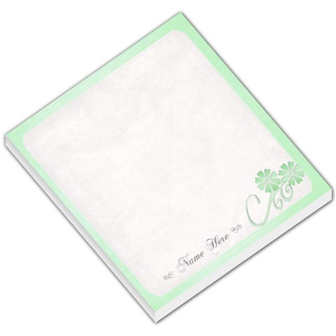 Green Small Memopad Template By Purplekiss   Small Memo Pads   Lyxwt4ryk1tn   Www Artscow Com