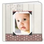 christmas baby book  - 8x8 Deluxe Photo Book (20 pages)