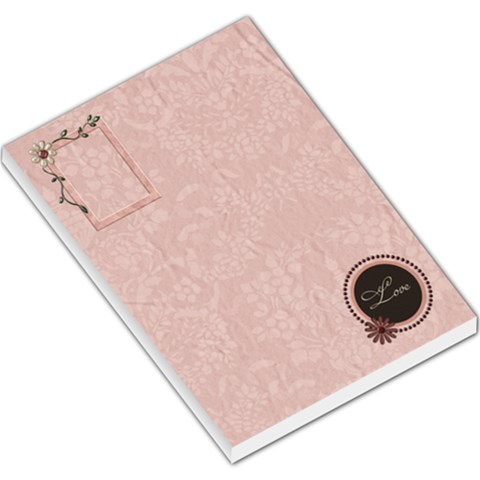 You ve Stolen My Heart Memo Pad 1 By Lisa Minor   Large Memo Pads   Kirk49n6wc18   Www Artscow Com