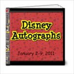 Autograph Book Jan 2011 - 6x6 Photo Book (20 pages)
