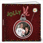 Jolly Christmas 12x12 Photo Book - 12x12 Photo Book (20 pages)