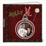 Jolly Christmas 8X8 Photo Book - 8x8 Photo Book (20 pages)