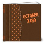 October 2010 - 8x8 Photo Book (39 pages)