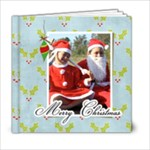 6 x 6 Christmas Book - 6x6 Photo Book (20 pages)